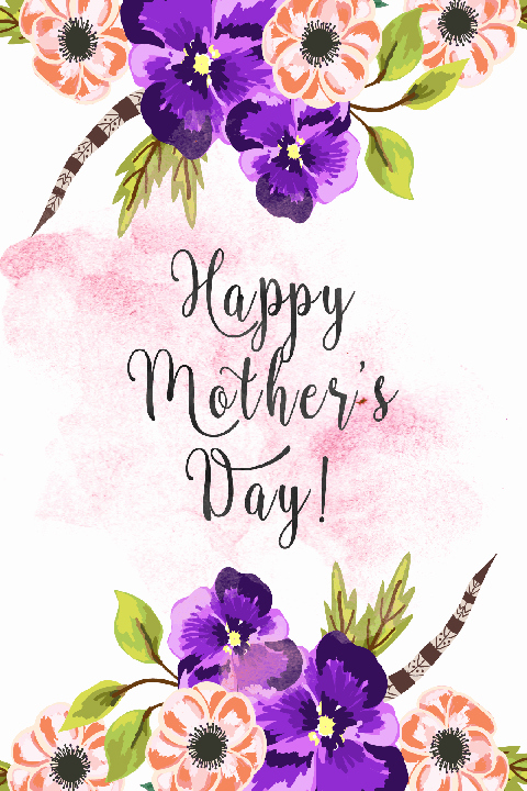 Mother Day Certificates to Print Beautiful 30 Cute Free Printable Mothers Day Cards Mom Cards You