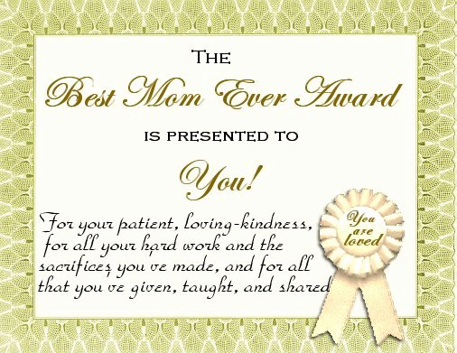 Mother Day Certificates to Print Unique Mother S Day Certificates Let S Celebrate