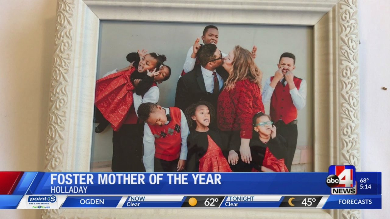 Mother Of the Year Certificate Inspirational Foster Mother Of 12 Receives Foster Mother Of the Year Award