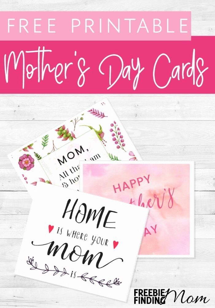 Mother's Day Certificates to Print Awesome Free Mother S Day Printable Cards