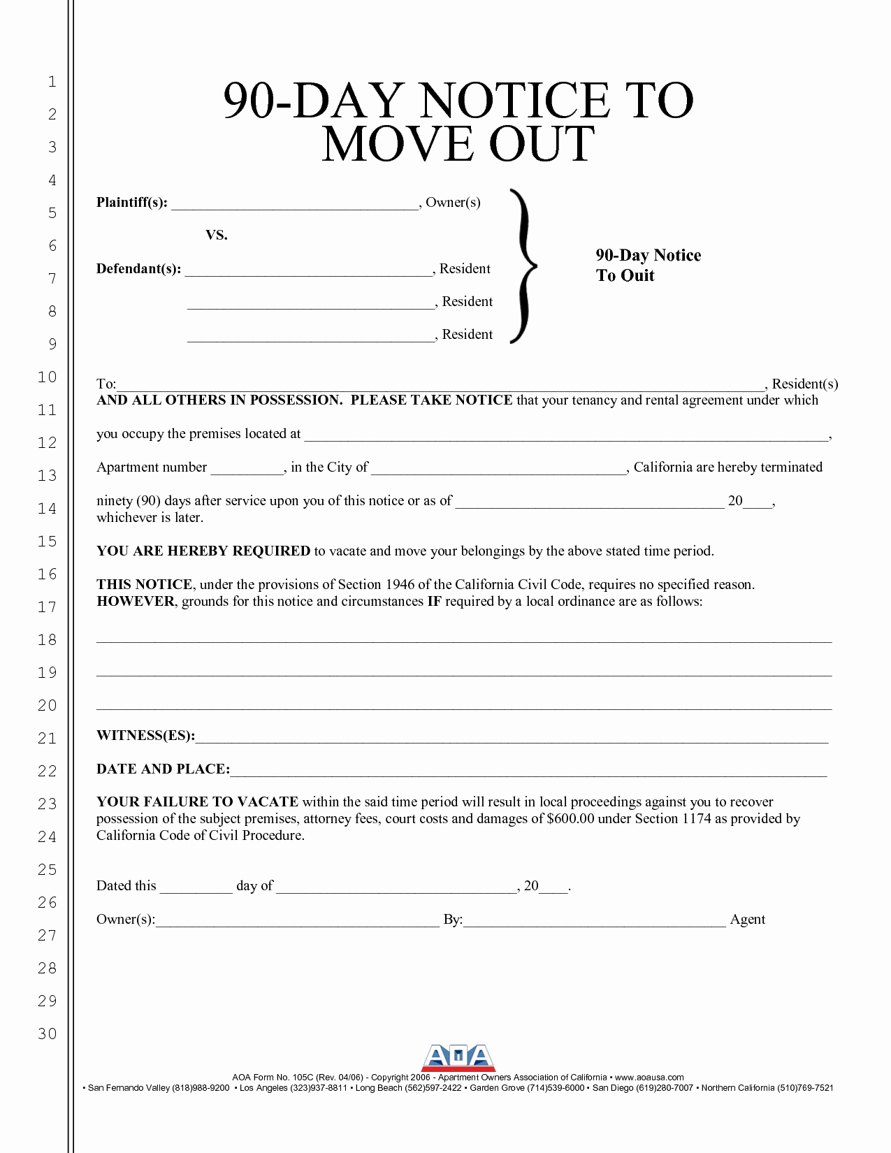 Move Out Letter Unique Best S Of Move Out Notice to Tenant Template 30 Day