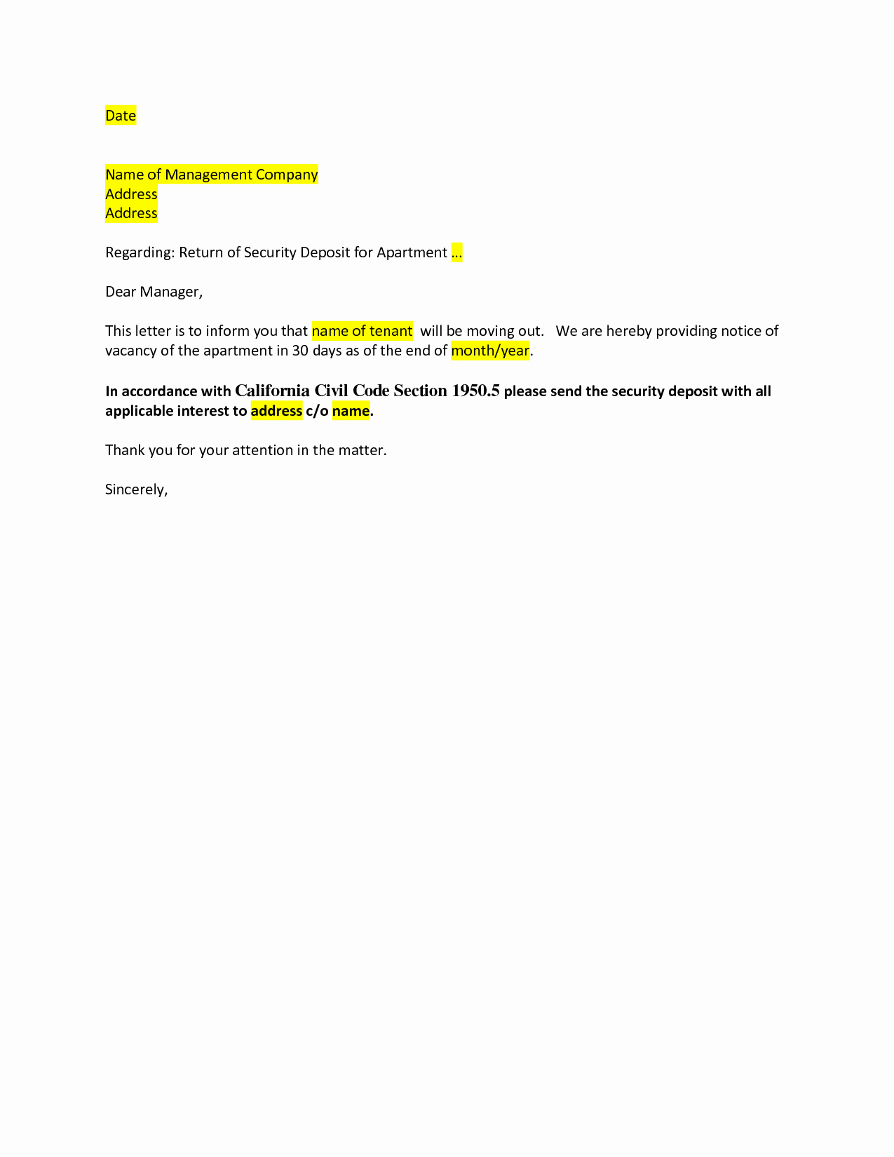 Moving Out Notification Letter Sample Beautiful Best S Of Request to Move Out Letter Move Out