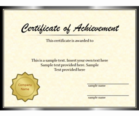 Ms Powerpoint Certificate Template Best Of Certificate Powerpoint Templates