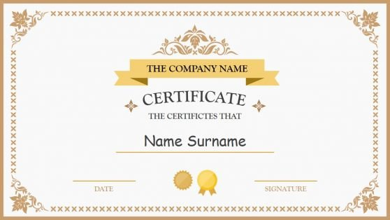 Ms Powerpoint Certificate Template Best Of Powerpoint
