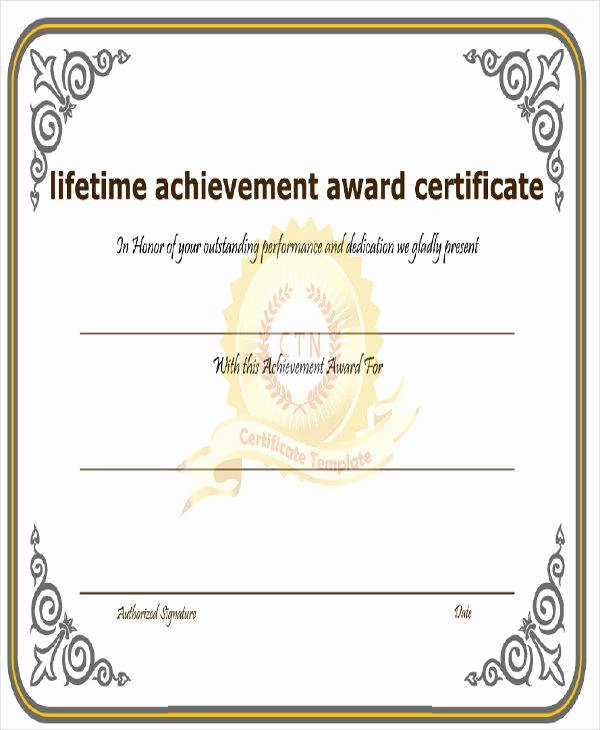 Music Achievement Award Certificate Awesome 32 Free Award Certificate