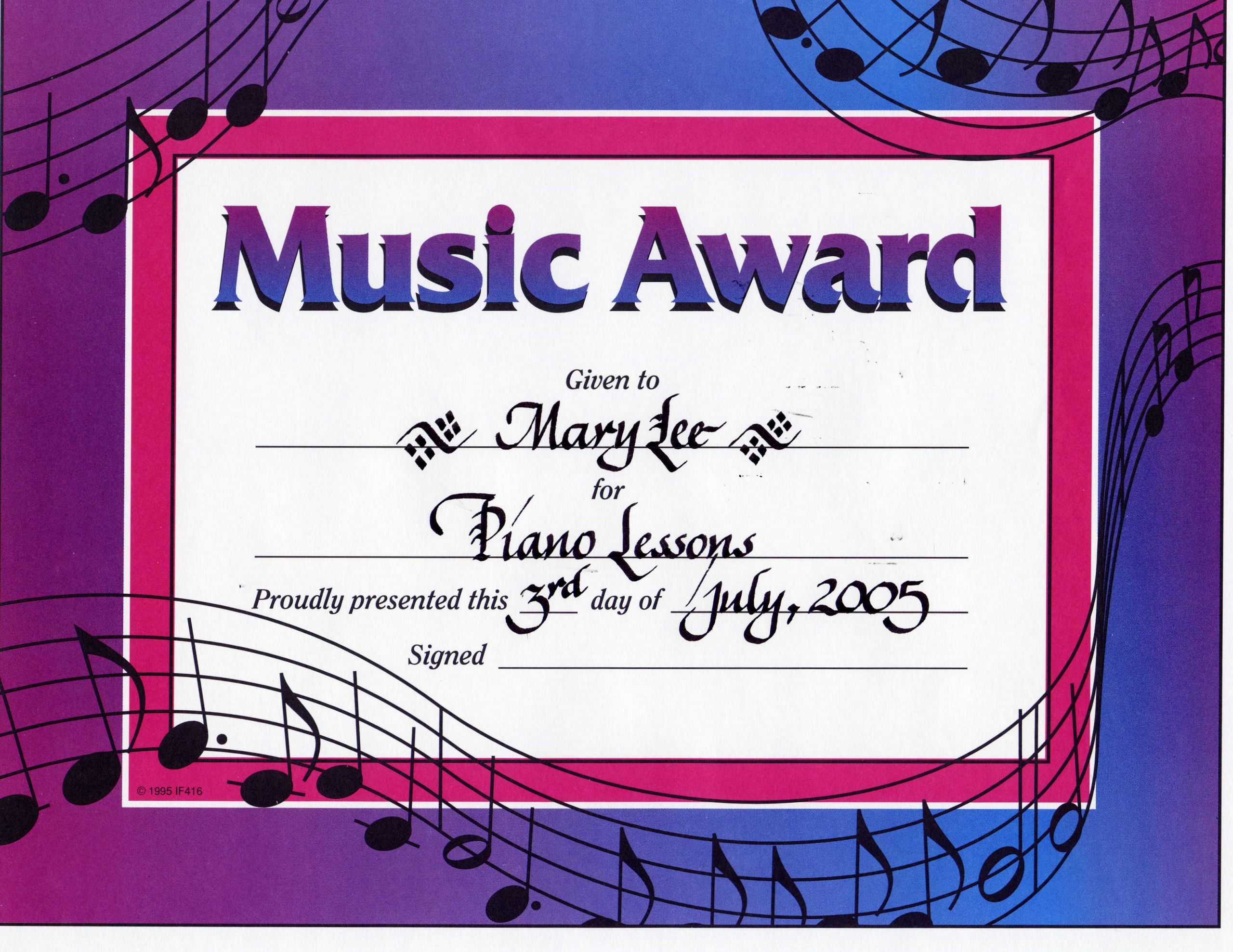 Music Award Certificate Template Fresh Certificate Template Category Page 36 Efoza