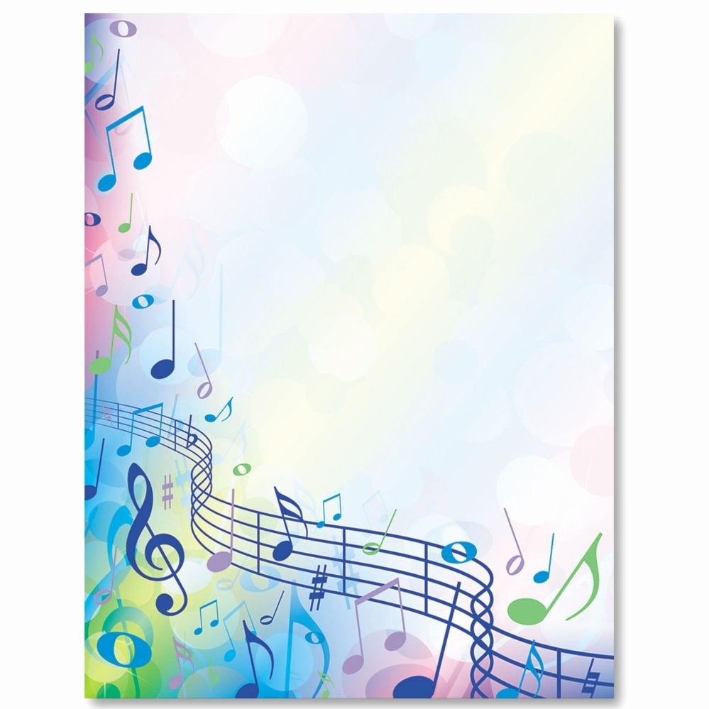 Music Borders for Word Awesome Music Festival Border Papers