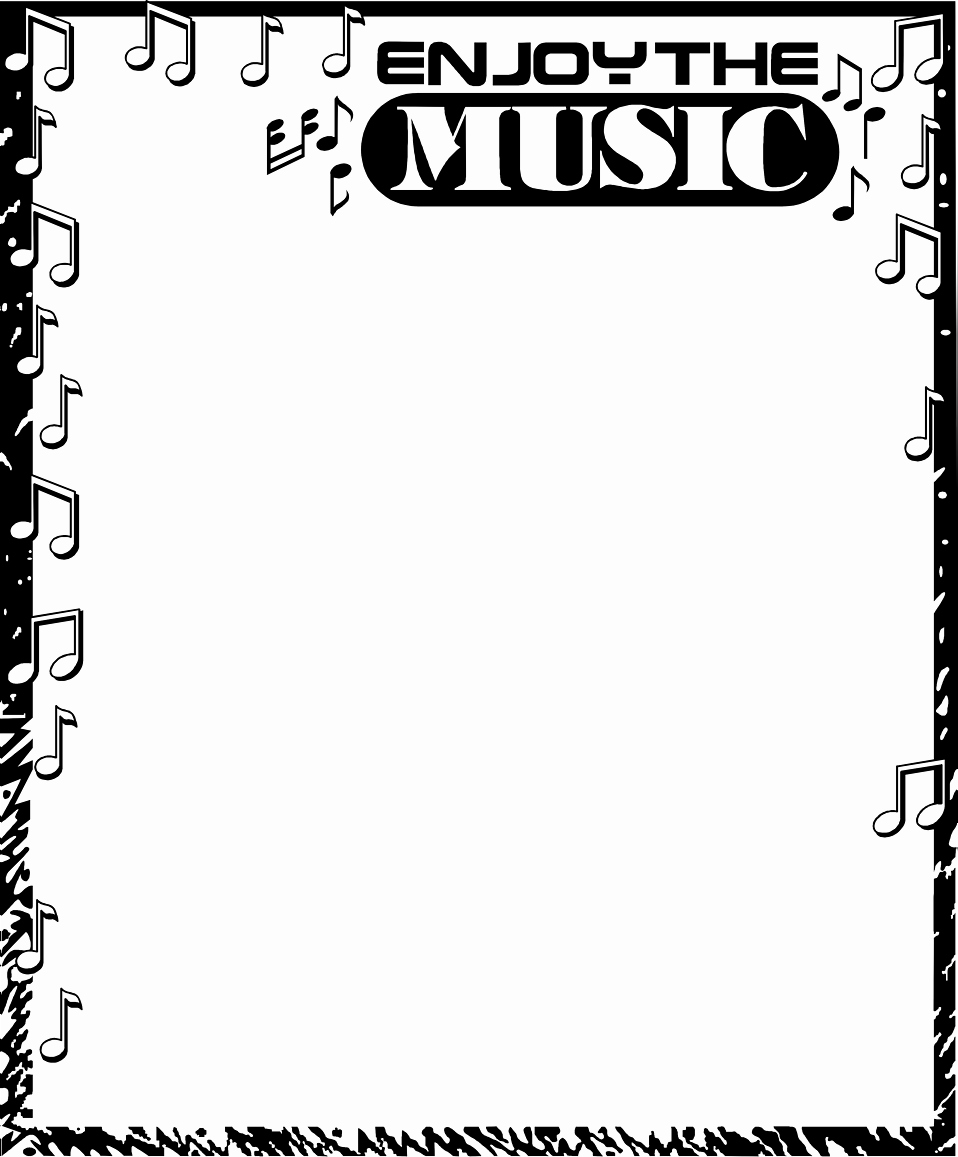 Music Borders for Word Best Of Music Border Free Stock