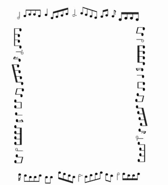 Music Borders for Word Best Of Pin by Grammie Newman On Birthday