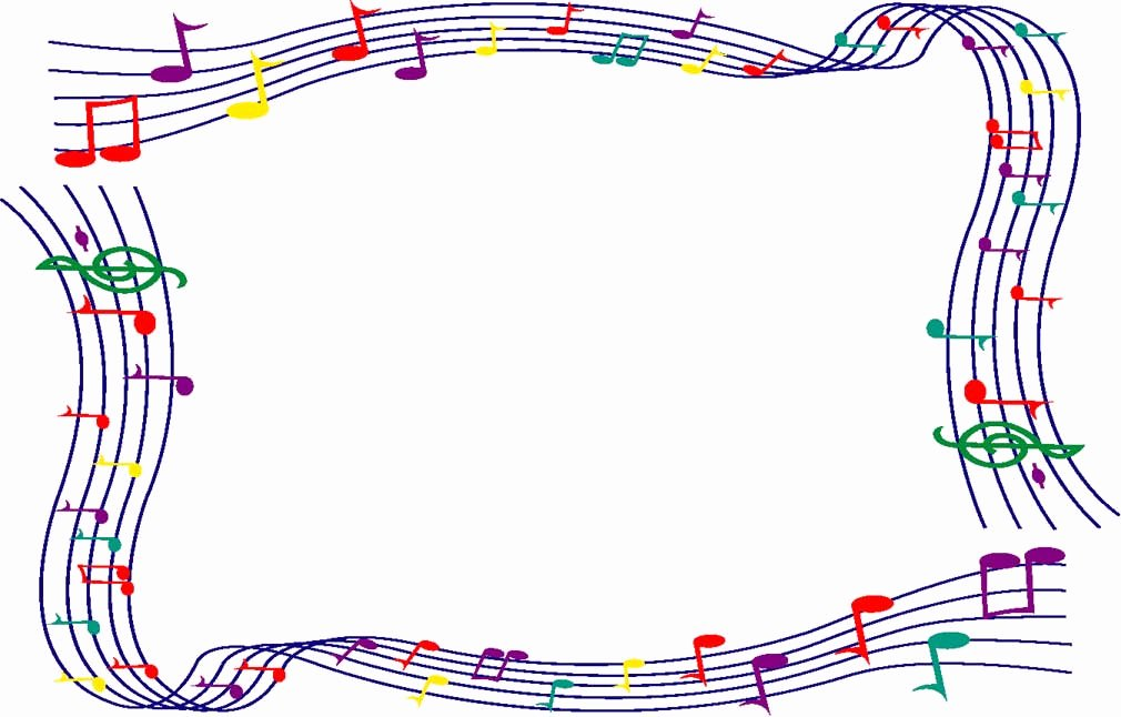 Music Borders for Word Elegant Music Border Clipart Png and Cliparts for Free Download