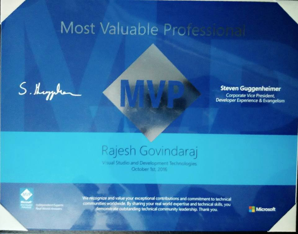 Mvp Visuals Design Scholarship Unique Dotnet Developer Blog Certifications