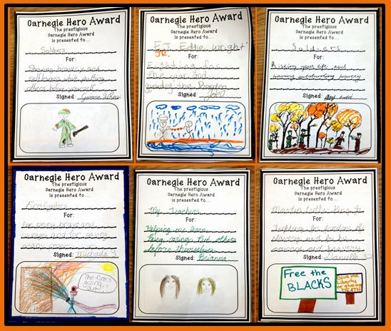 My Hero Award Template Beautiful Five for Friday Heroes Joy In the Journey
