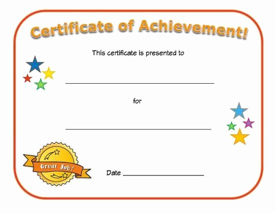 My Hero Award Template New Blank Certificates Google Search Church