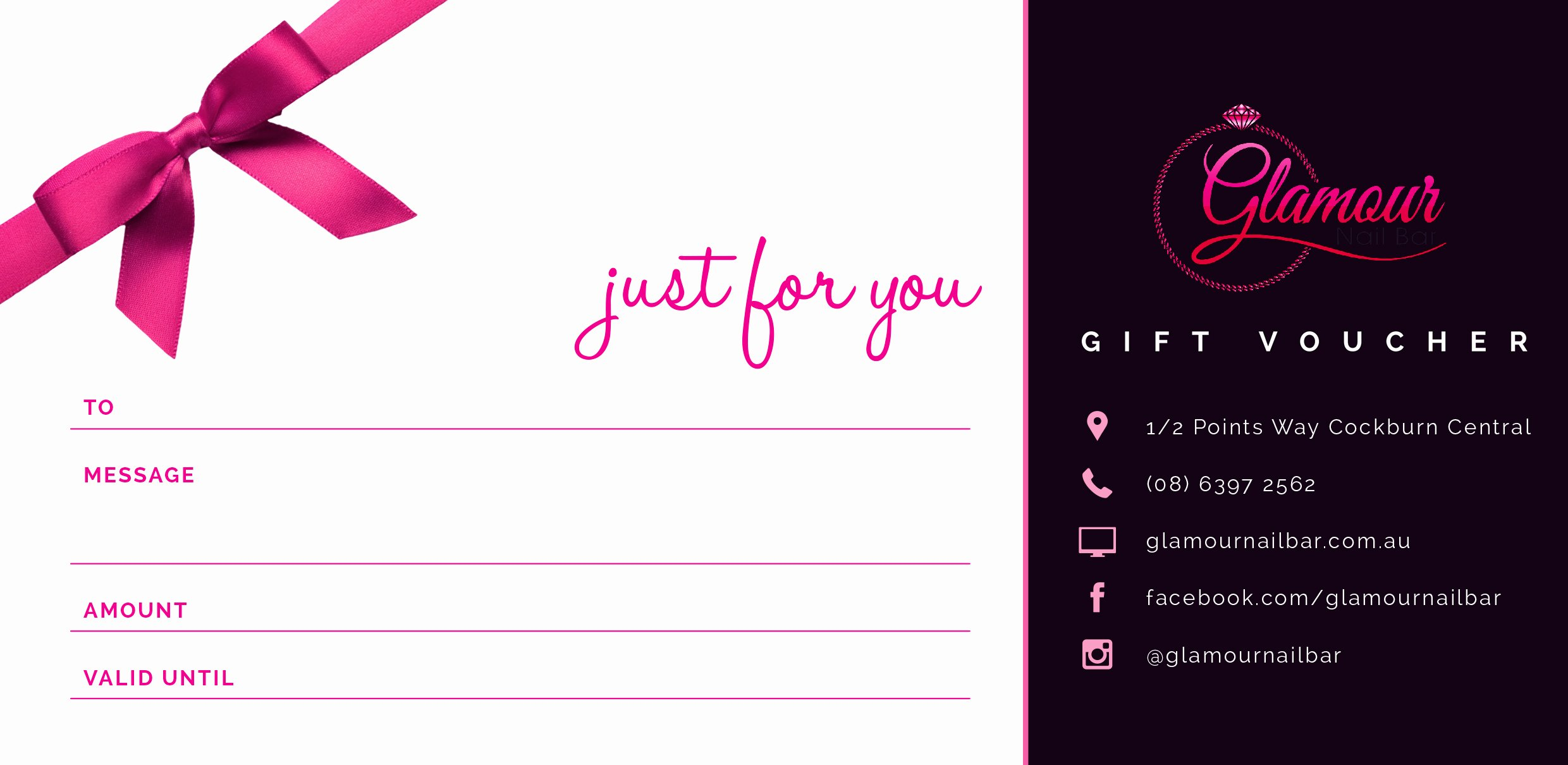 Nail Gift Certificate Template Inspirational $40 Gift Voucher