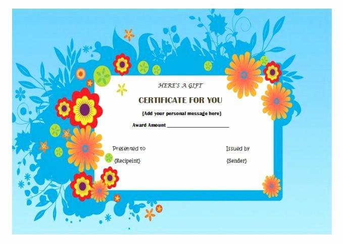 Nail Gift Certificate Template Luxury Manicure Pedicure T Certificate