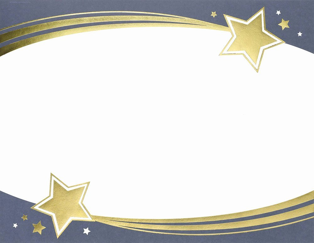 Name A Star Certificate Template Free New Certificate Star