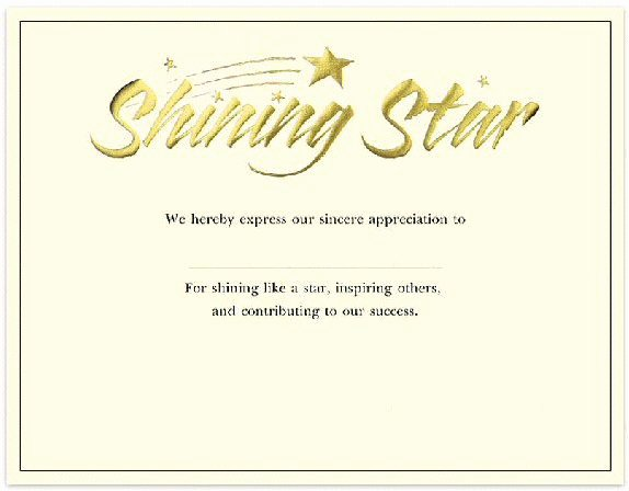Name A Star Certificate Template Lovely Fill In the Blank Certificates