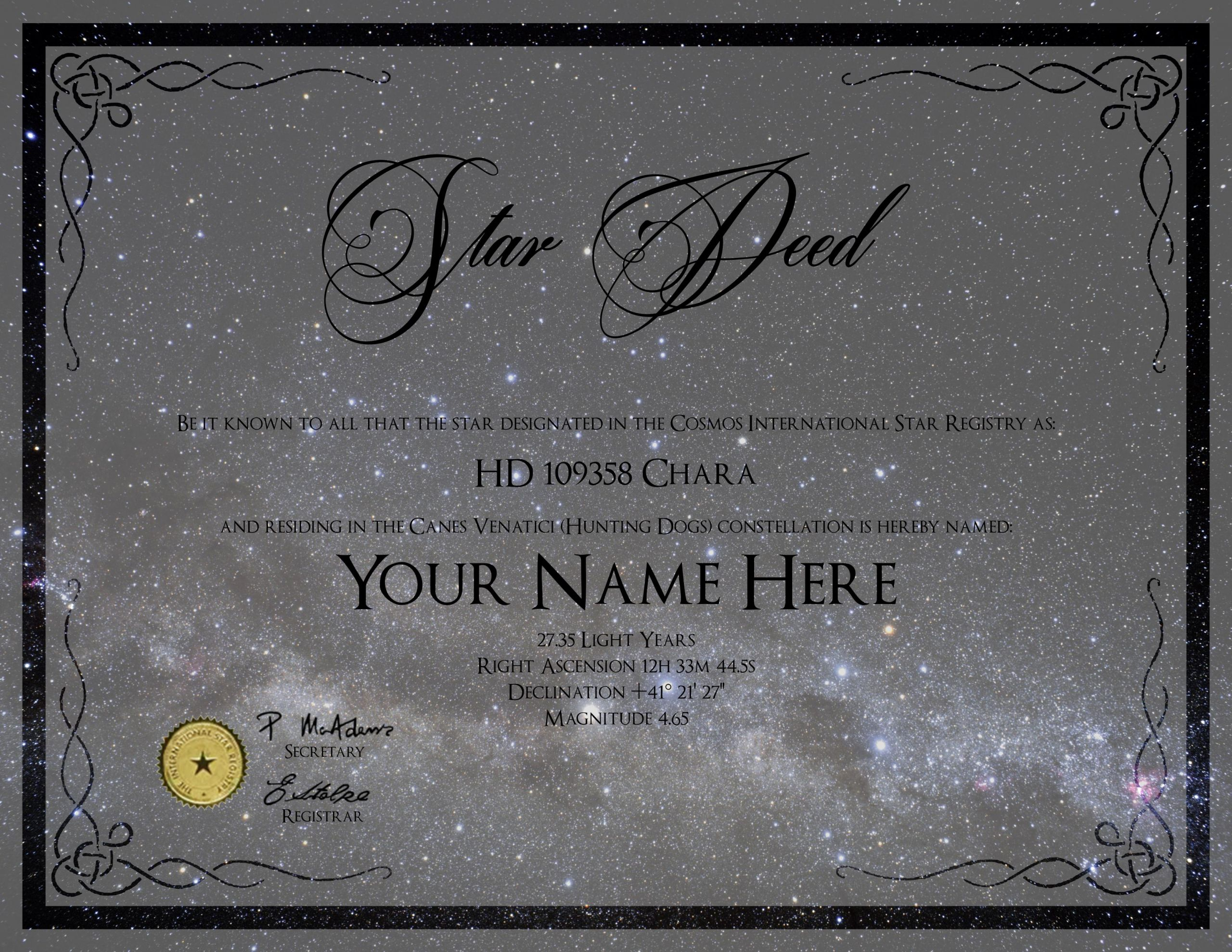 Name A Star Certificate Template Lovely It Probably Cost Him 50 Bucks and She Was so Happy