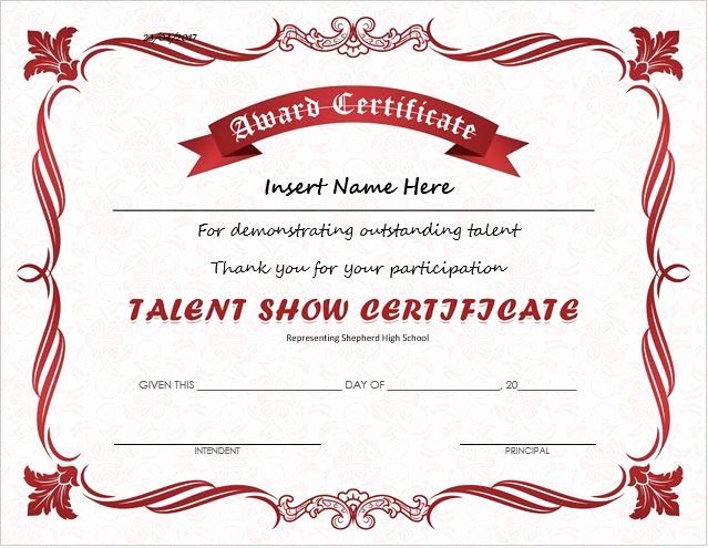 Name A Star Certificate Template New Pin by Alizbath Adam On Certificates