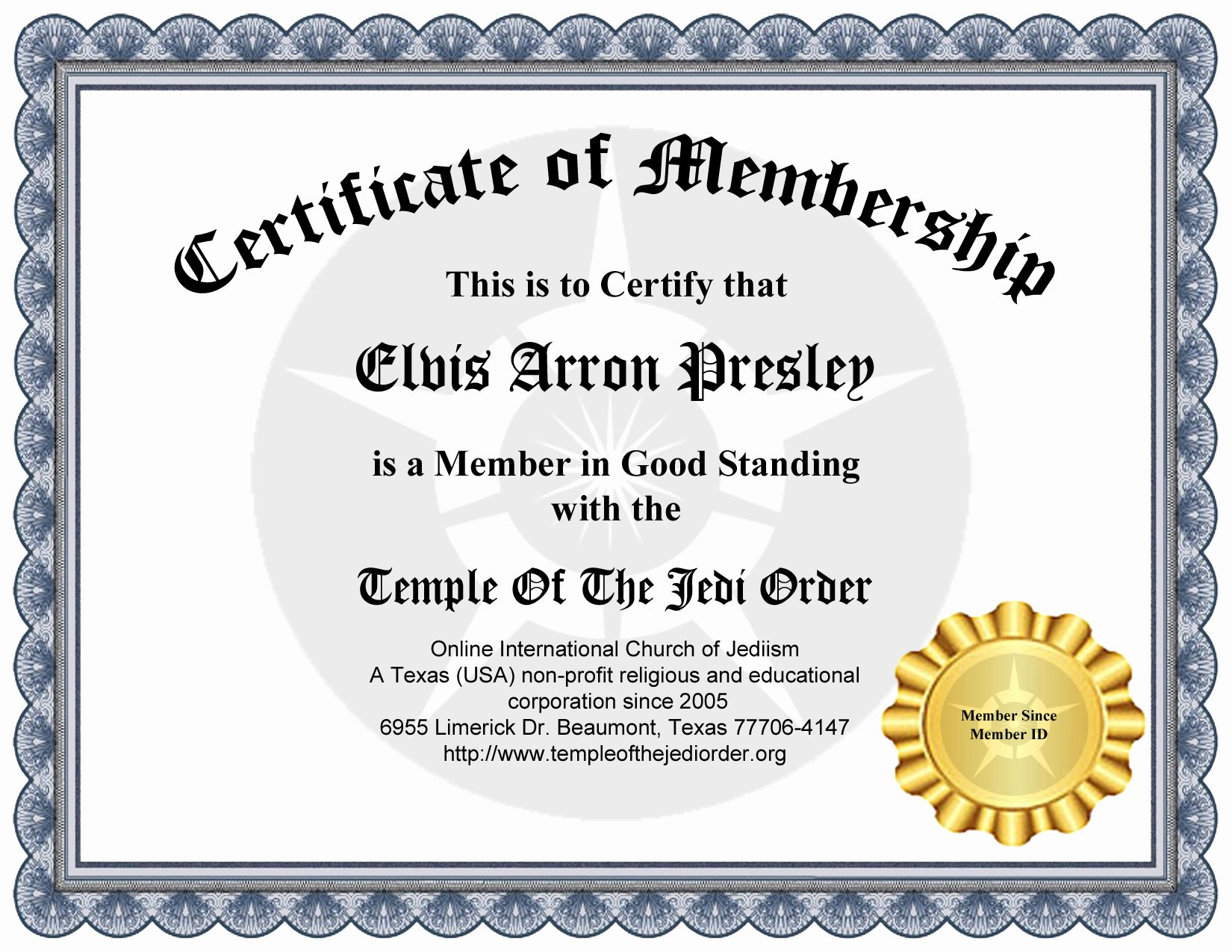 New Member Certificates Church Elegant Membership Items Id Cards Certificates Etc forum