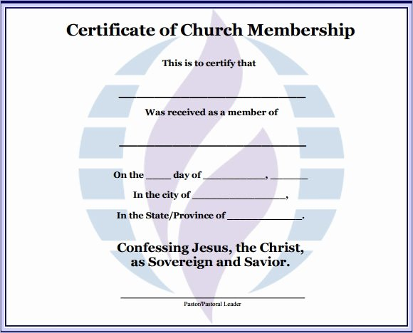 New Member Certificates Church Elegant Sample Membership Certificate 7 Documents In Pdf Psd