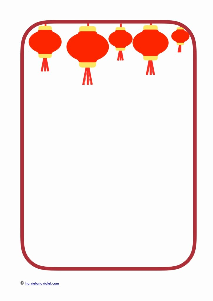 New Years Page Border Best Of China Chinese New Year Page 1 Free Teaching