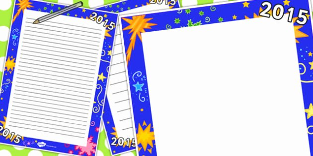 New Years Page Border New 2015 Page Border 2015 Page Border Page Border New Year