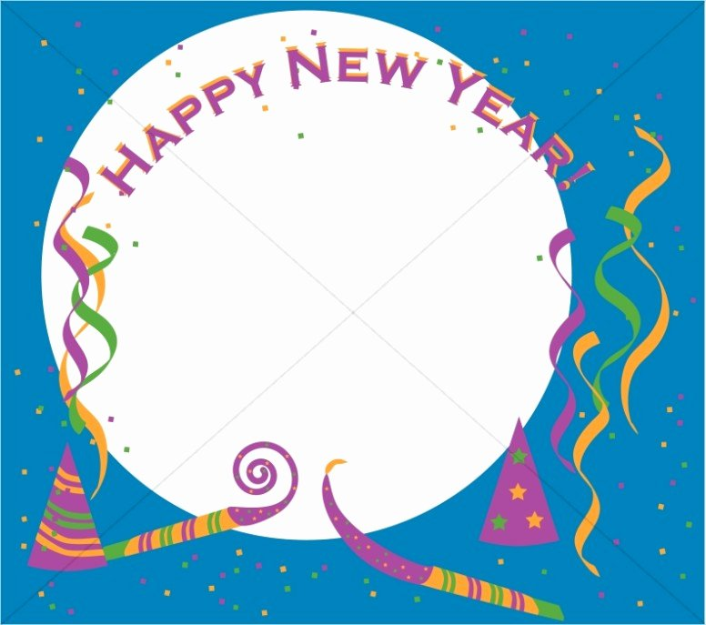 New Years Page Border New New Year Party Border