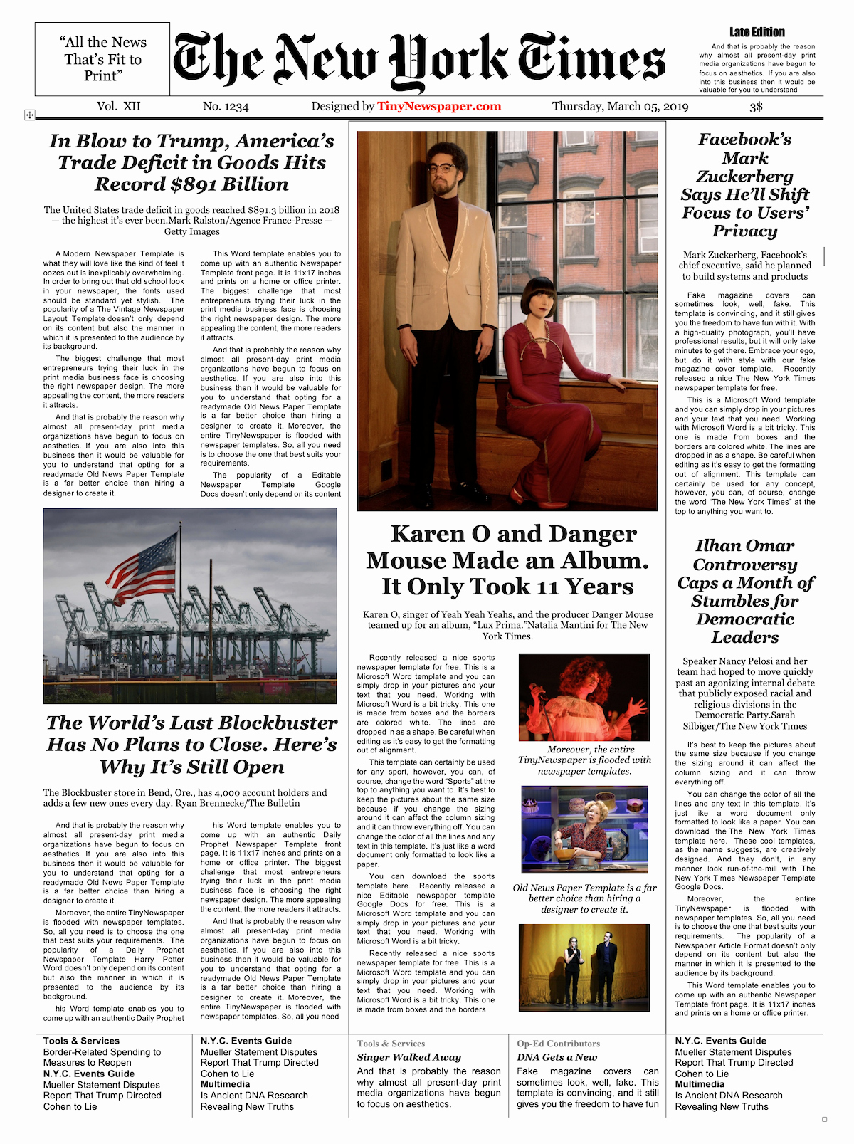 New York Times Newspaper Template Google Docs Awesome Newspaper Layout Template