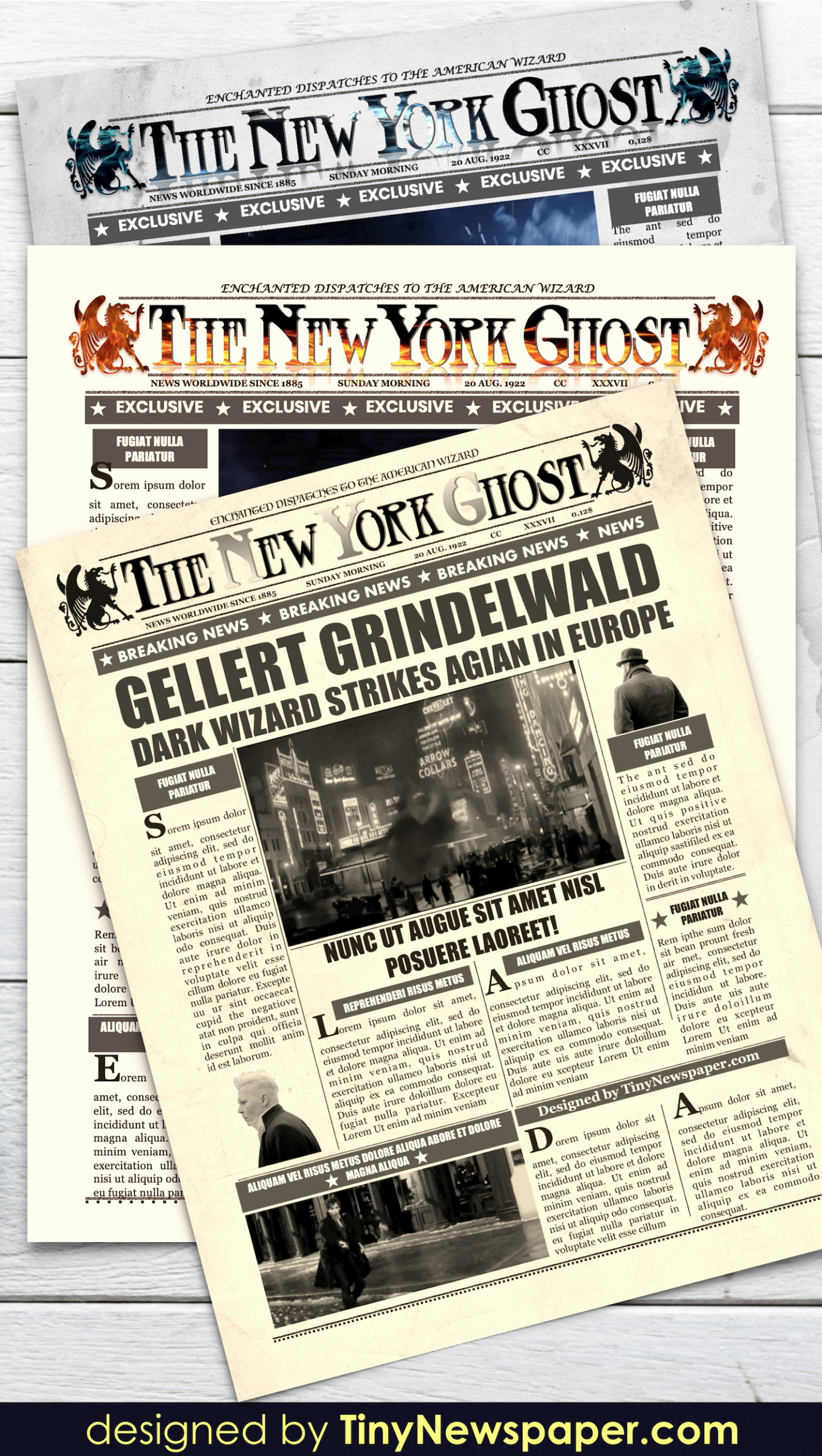New York Times Newspaper Template Google Docs Beautiful Daily Prophet Newspaper Template Harry Potter Word