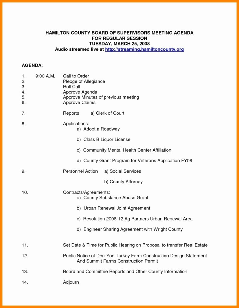 Nonprofit Board Meeting Agenda Template Awesome Nonprofit Board Meeting Agenda Template 2018