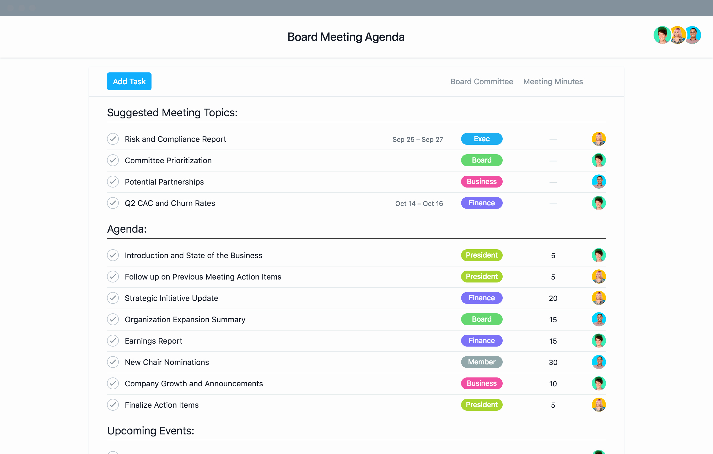 Nonprofit Board Meeting Agenda Template Lovely Nonprofit Board Meeting Agenda Template and Best Practices