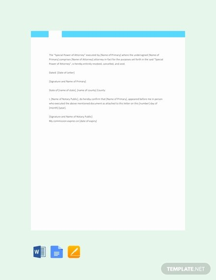 Notarized Letter Template Word Lovely Free Sample Notarized Letter Of Authorization Template
