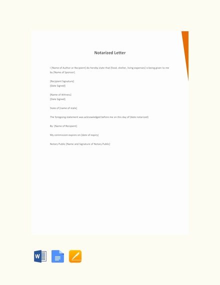 Notarized Letter Template Word New How to Write A Personal Letter with Examples