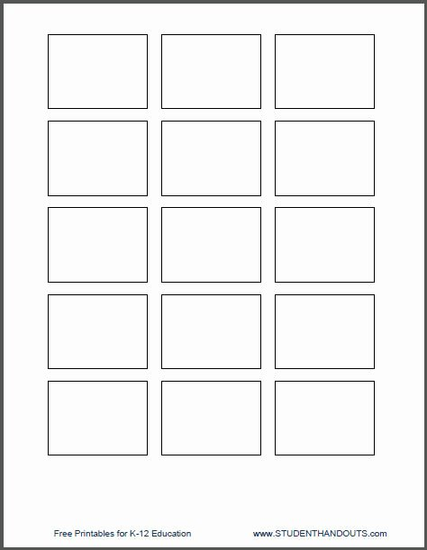 Note Card Template Google Docs Elegant 18 Of Google Cardboard Template Print 5 1 2