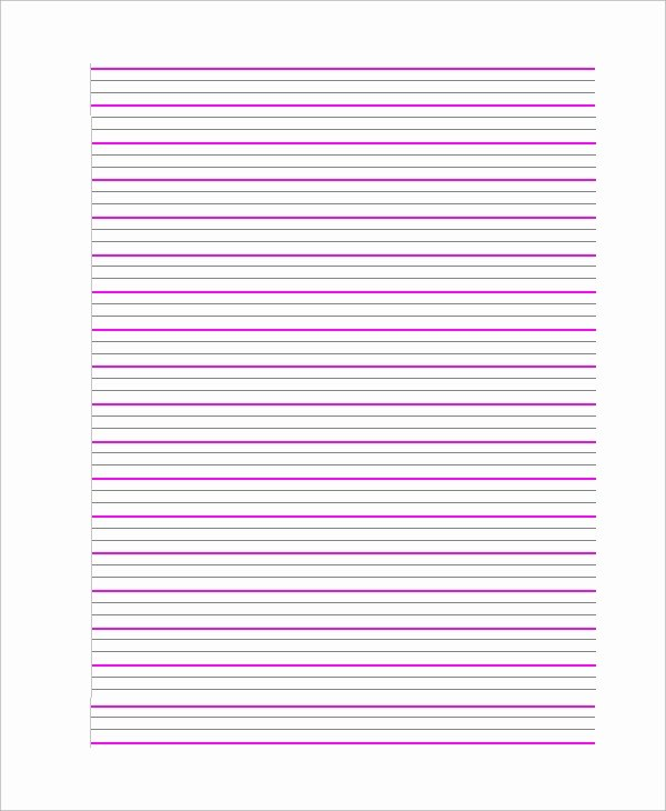Notebook Paper Pdf Beautiful 8 Sample Notebook Papers Pdf Word