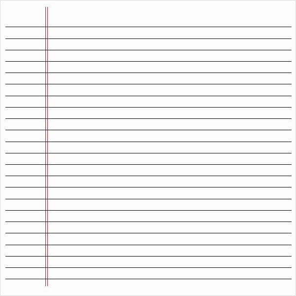 Notebook Paper Pdf New Notebook Paper Pdf