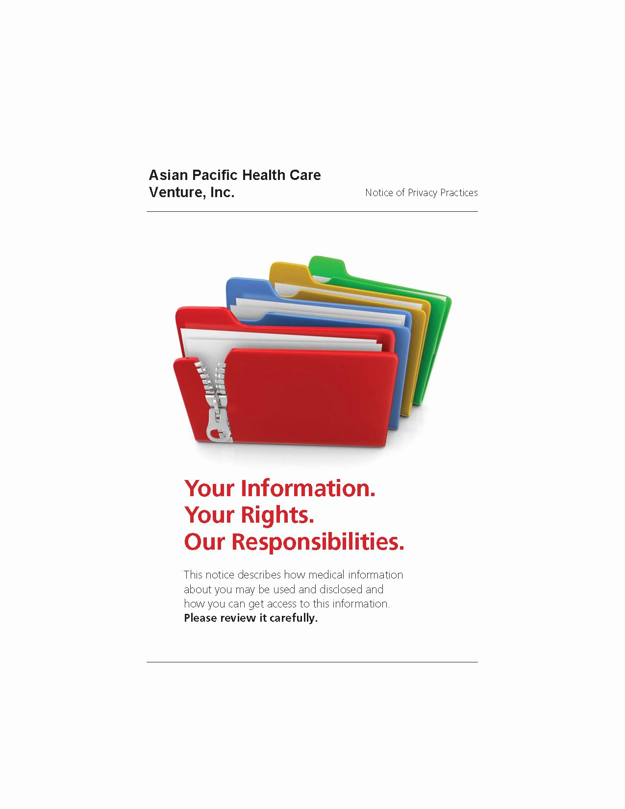Notice Of Privacy Practices In Spanish Elegant Notice Of Privacy Practices – Pediatrics In Los Angeles