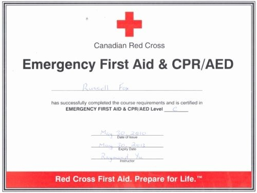 Nsc Cpr Course Certificate Template Fresh Good Cpr First Aid Certification First Aid