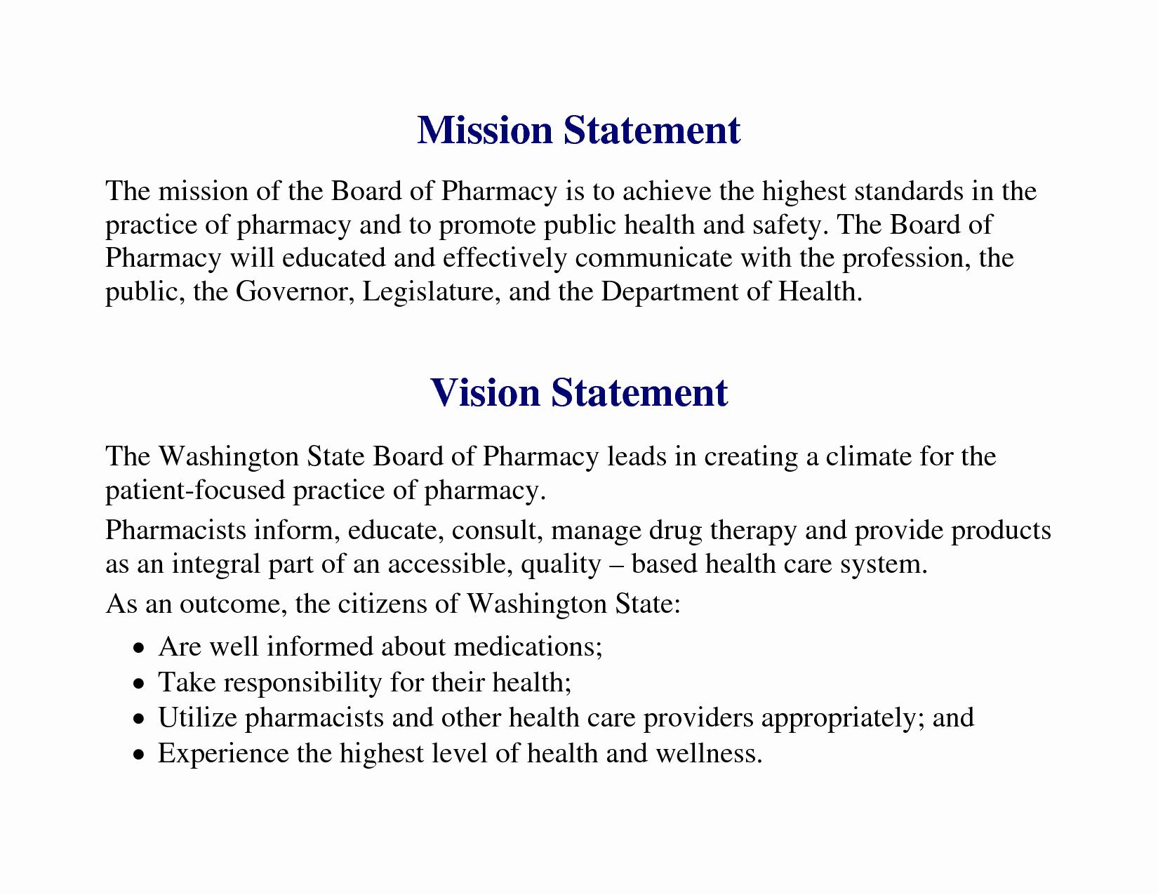 Nursing Mission Statement Example Elegant Vision Statement Examples for Business Yahoo Image