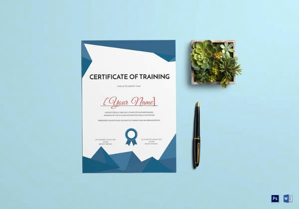 Nwcg Training Certificate Template Best Of 99 Free Printable Certificate Template Examples In Pdf