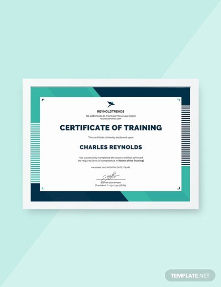 Nwcg Training Certificate Template Best Of Free Industrial Training Certificate Template Download