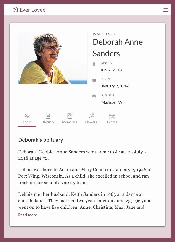 Obituary Notice Example Fresh top Free Obituary Templates