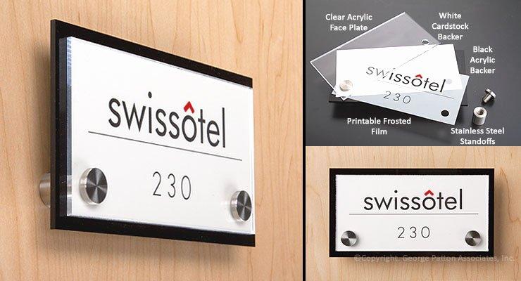 Office Door Name Plate Template Awesome Custom Door Sign
