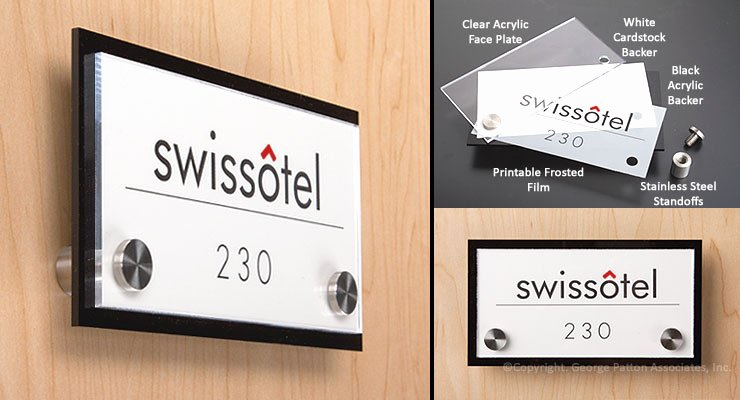 Office Door Name Plates Template New Custom Door Sign