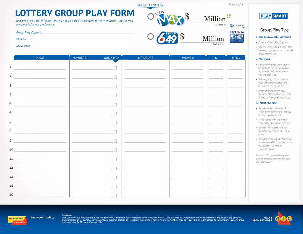 Office Lottery Contract Elegant Work Lottery Pool Agreement Template – Switchsecurity Panies