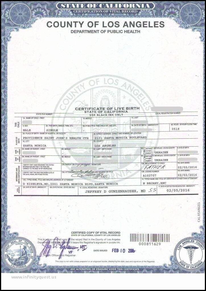 Official Blank Birth Certificate Template Inspirational Ways You Can order A Copy Of Your Birth Certificate