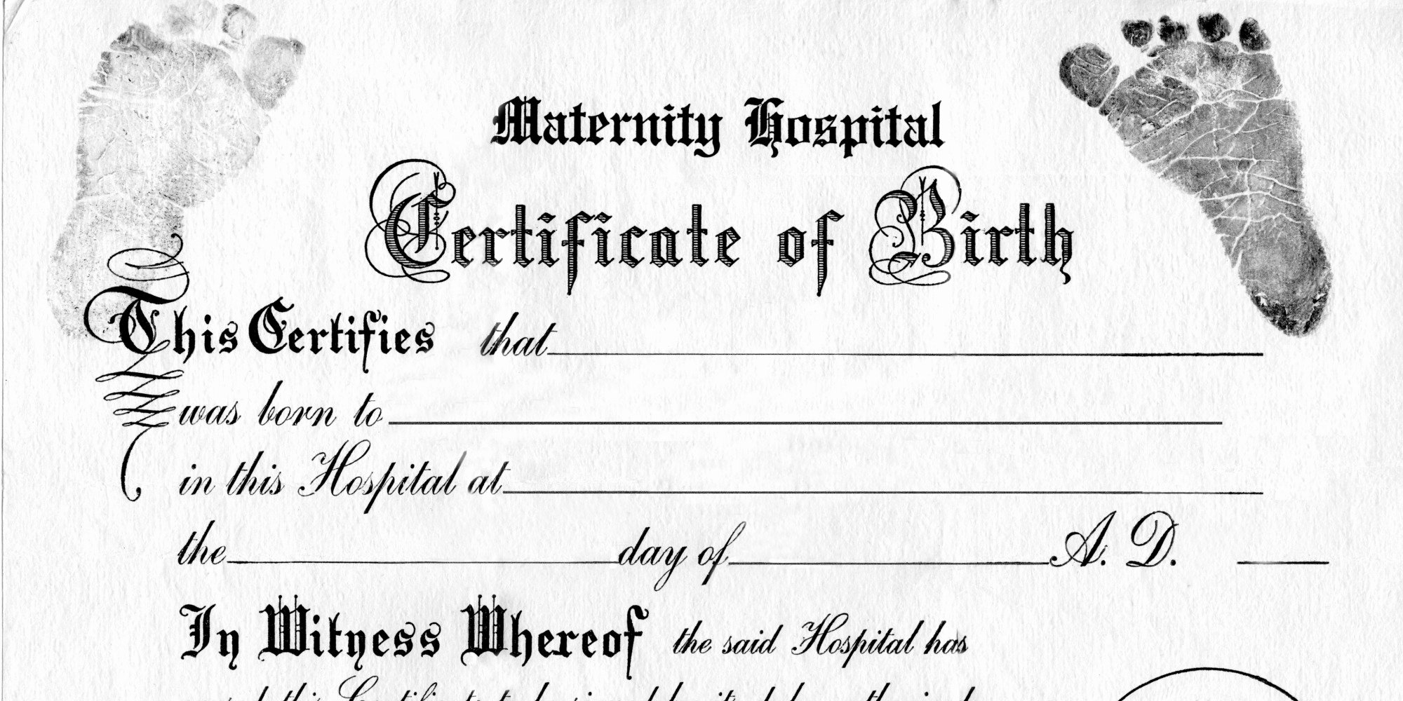 Official Blank Birth Certificate Template Unique Does Gender No Longer Work Birth Certificates