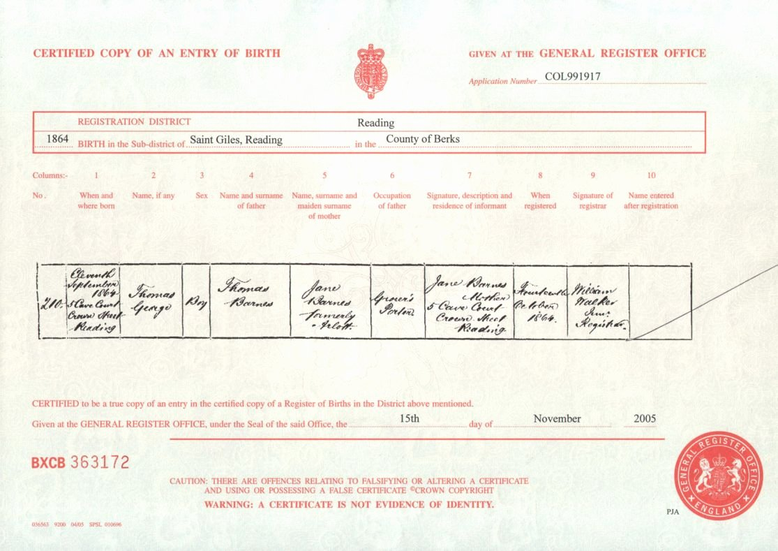 Old Birth Certificate Template Awesome Full Birth Certificate Wolverhton Full Birth Certificate