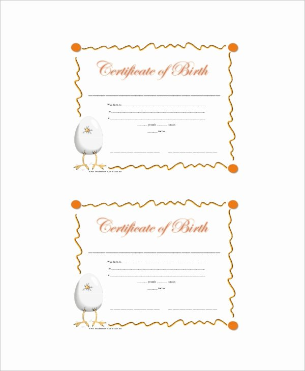 Old Birth Certificate Template Best Of Sample Birth Certificate 12 Documents In Word Pdf